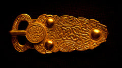 Large Sutton Hoo - Saxon Buckle - B-18