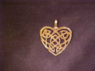 Celtic Heart Pendant - N-05