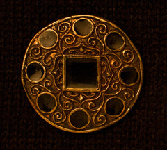Norman brooch with modern pin enamel - NB02