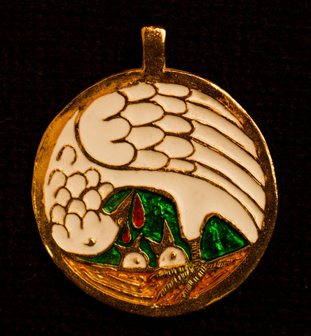 Pelican Pendant from Durham - O-07