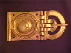 Roman 1st C. Belt buckle with plate - RB27A