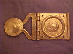 Roman Pugio Holder, with Plate - RB29