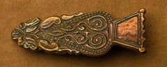 "Belt Tip - Florate Pattern - Roman (3/4"") - RB11"