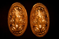Bronze Viking Ribe Turtle Brooches - TB-27