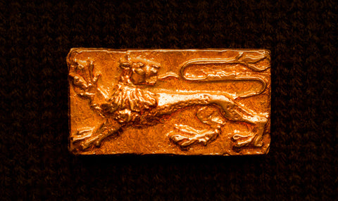 16th Century Belt Mount with a mighty Lion! - X-78