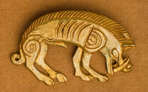 Celtic Boar brooch - Z-58