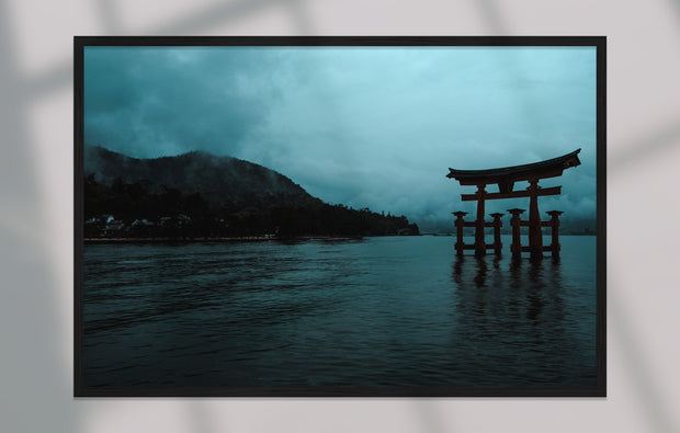 """Miyajima Mornings"" als Japan Print"