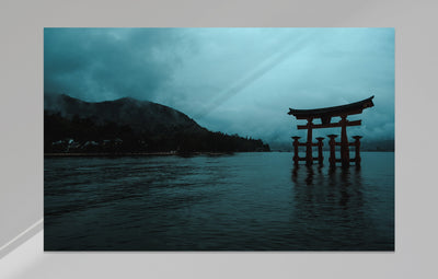 """Miyajima Mornings"" als Japan Wandbild"