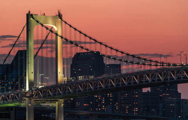 Print/Poster - Toyko Rainbow Bridge