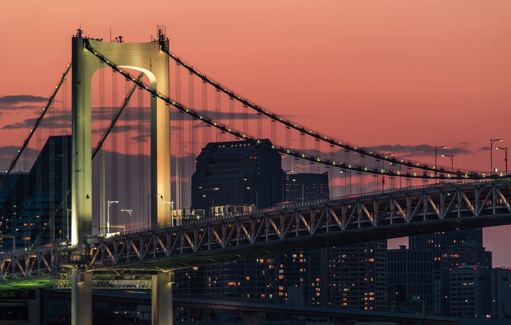 """Toyko Rainbow Bridge"" als Japan Wandbild"