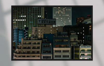 Print/Poster - Tokyo Rooftops