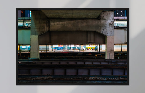 Print/Poster - Tokyo Train Station