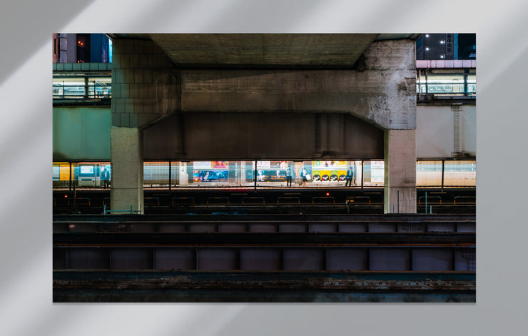 """Toyko Train Station"" als Japan Wandbild"