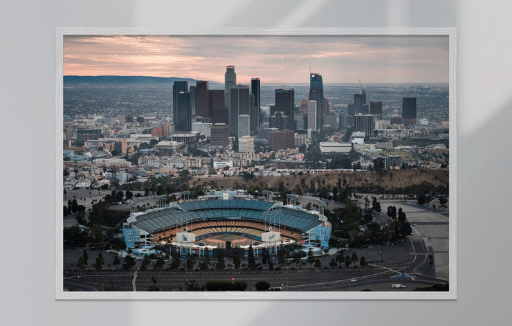 """L.A. Aerial - Downtown One"" als Print"