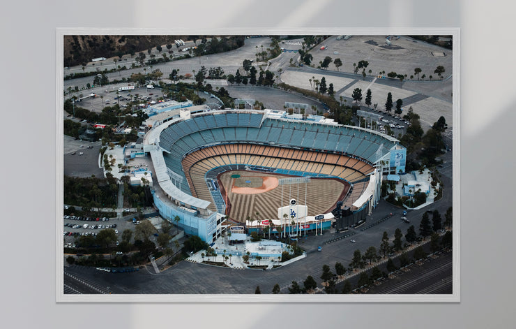 """L.A. Aerial - Ballpark One"" als Print"