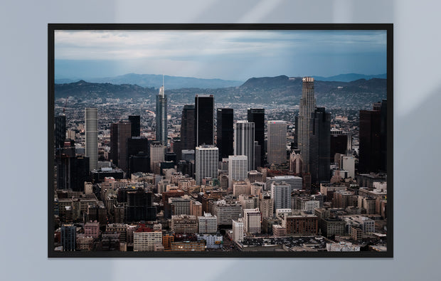 """L.A. Aerial - Downtown Two"" als Print"