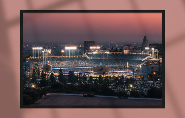 Poster - Dodger Stadium, Los Angeles
