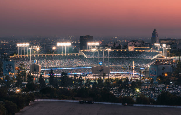 Wandbild - Dodger Stadium, Los Angeles