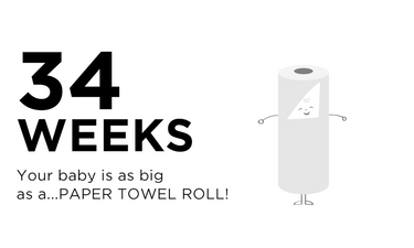 34-weeks-pregnant-your-baby-is-as-big-as-a-paper-towel-roll