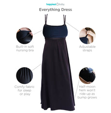 Everything Dress: Camisole Dress for Pregnancy and Nursing