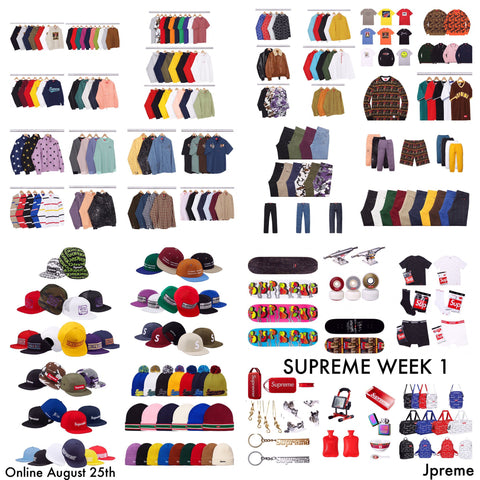 Supreme FW/2016 Week 1 (August 25th) - Supreme Auto Checkout Service