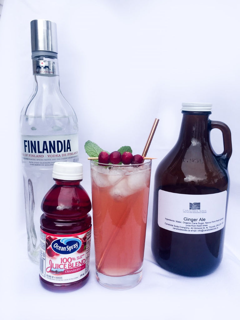 Cranberry Ginger Fizz