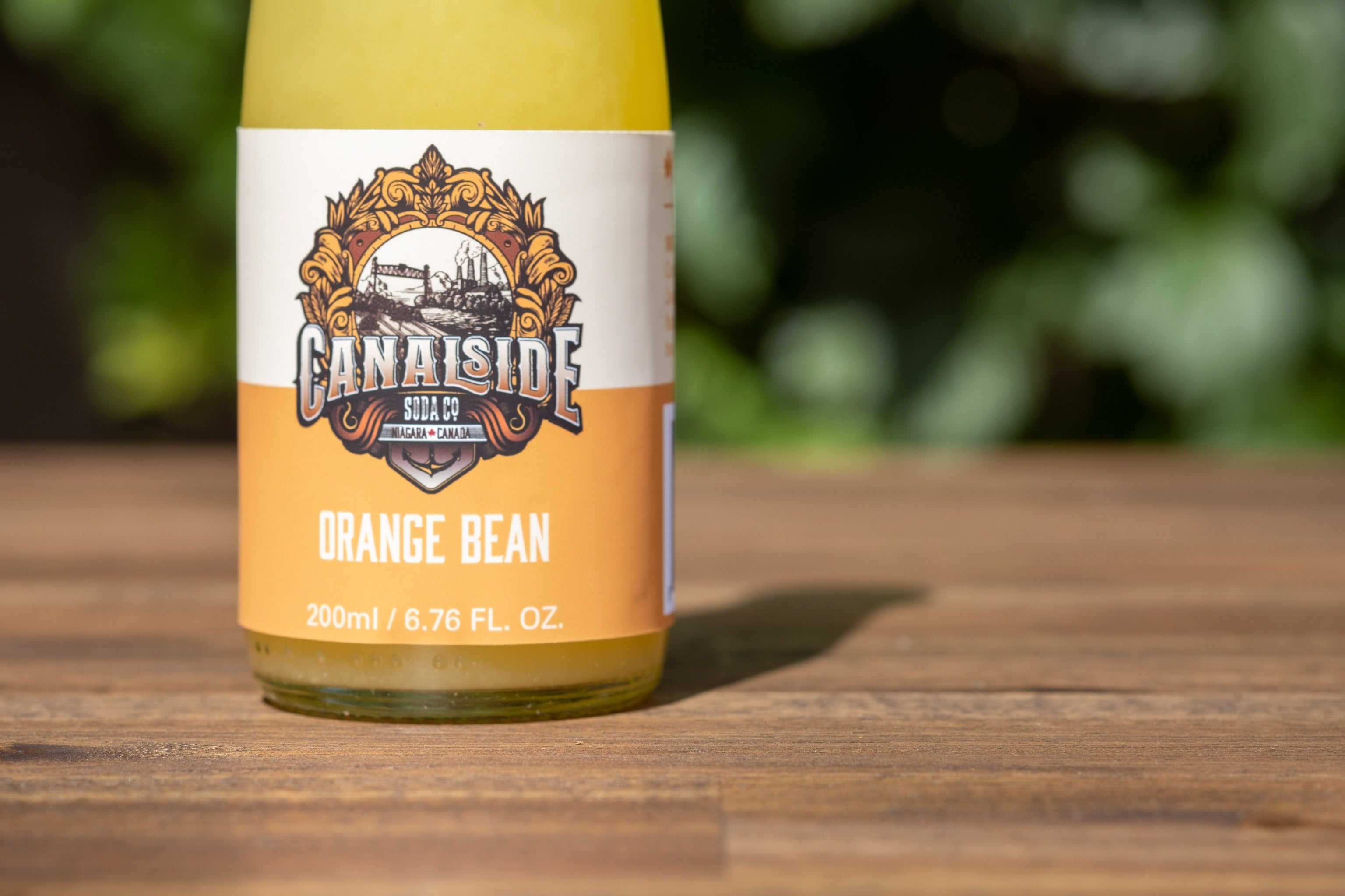 Orange Bean Soda (200ml Bottles)
