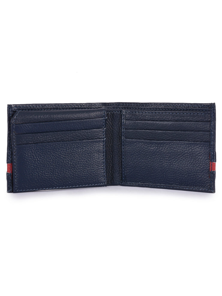 Phive Rivers Men's Leather Navy Wallets - Eli-ellas