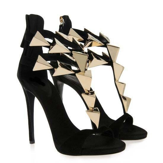 One-strap high heel sandals
