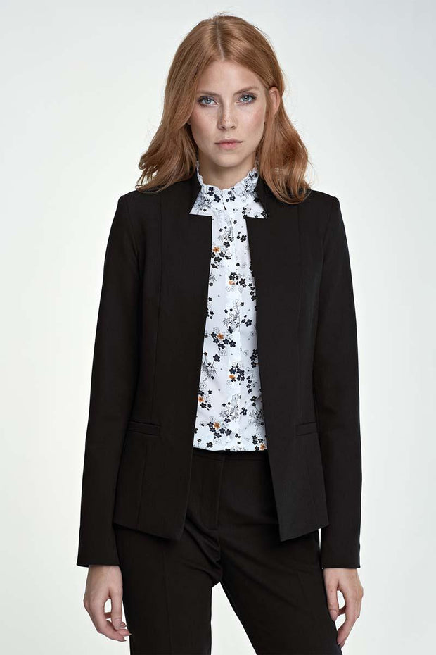 women-jacket-and-coatsBlack Nife Jackets & Coats - Eli-ellas