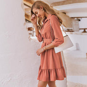 eliellas Ruffled women dress Spring - Eli-ellas