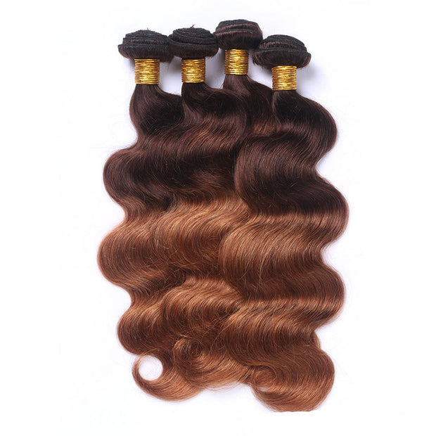 Real hair wig female real hair wavy body wave