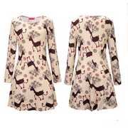 eliellas Printed long sleeve dress