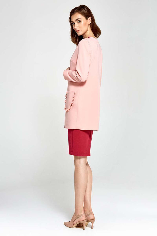 women-jacket-and-coatsPink Nife Blazers - Eli-ellas