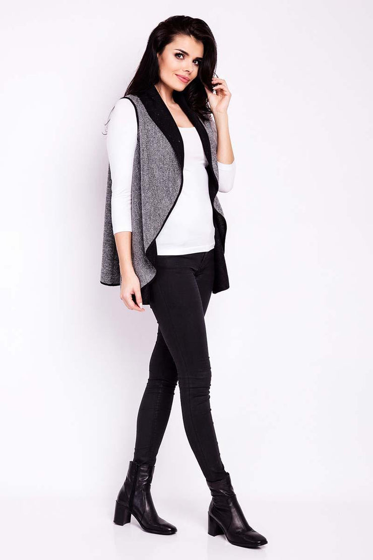 women-jacket-and-coatsGrey Infinite You Jackets & Coats - Eli-ellas