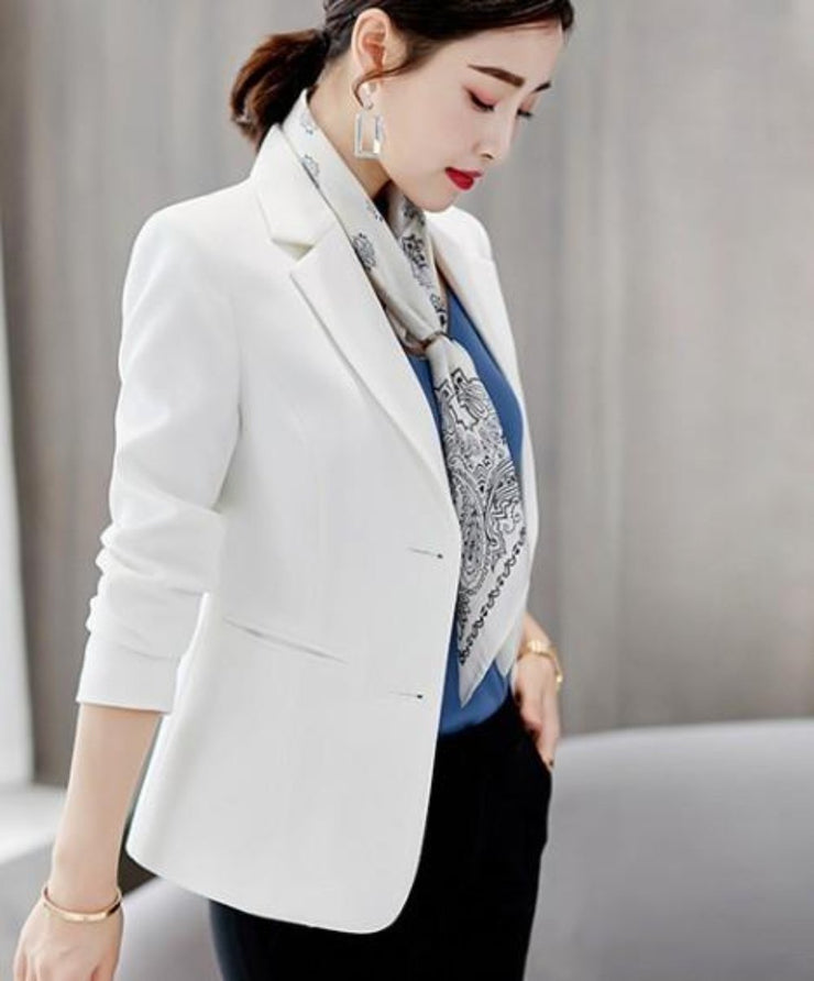Womens Slim Fit Cinch Waist Blazer - Eli-ellas