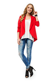 women-jacket-and-coatsRed Makadamia Blazers - Eli-ellas