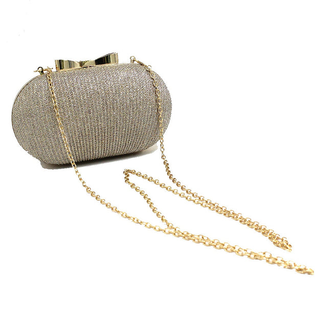Golden Evening Clutch Bag Women Bags Wedding - Eli-ellas