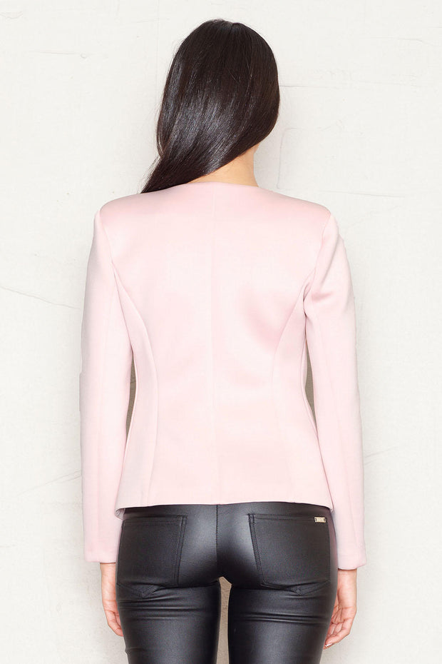 women-jacket-and-coatsPink Figl Blazers - Eli-ellas