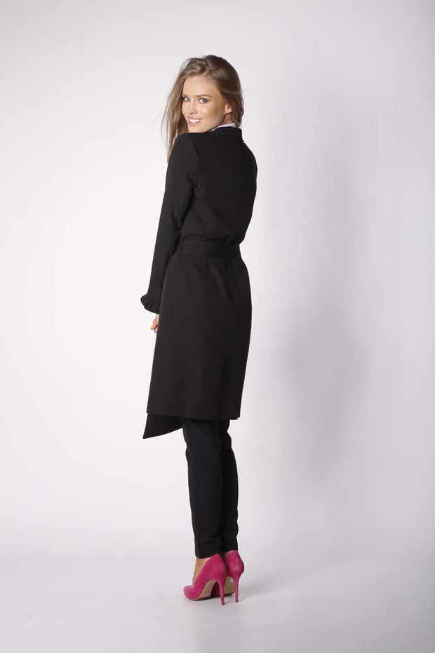women-jacket-and-coatsBlack Nommo Jackets & Coats - Eli-ellas