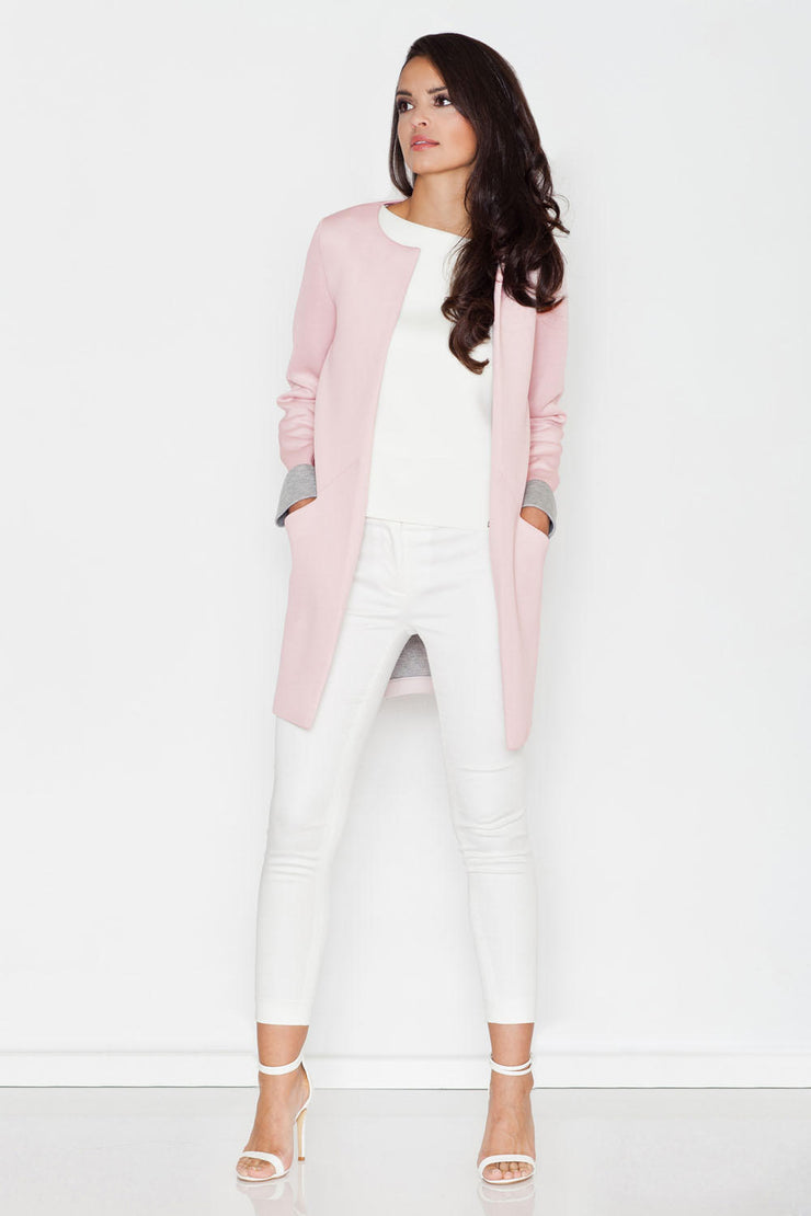 women-jacket-and-coatsPink Figl Jackets & Coats - Eli-ellas