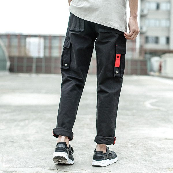 Men Jeans Casual Pants High Street Youth Style Jogger Pants Balplein Brand Loose Fit Jeans Men Cargo Pants - Eli-ellas