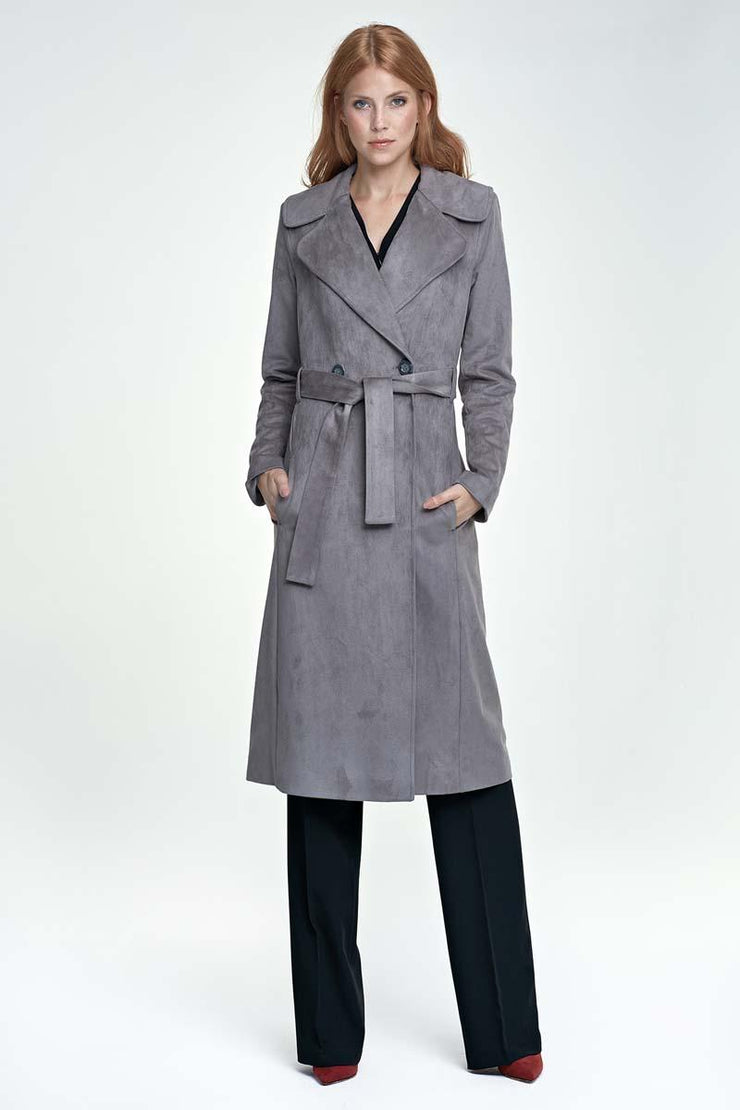 women-jacket-and-coatsGrey Nife Jackets & Coats - Eli-ellas