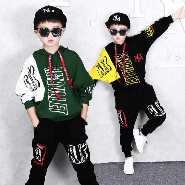 Long-sleeved suit children 2019 big children - Eli-ellas