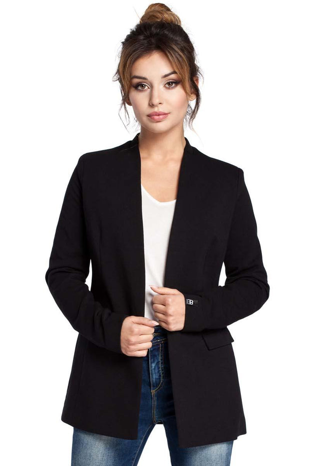 women-jacket-and-coatsBlack MOE Blazers - Eli-ellas