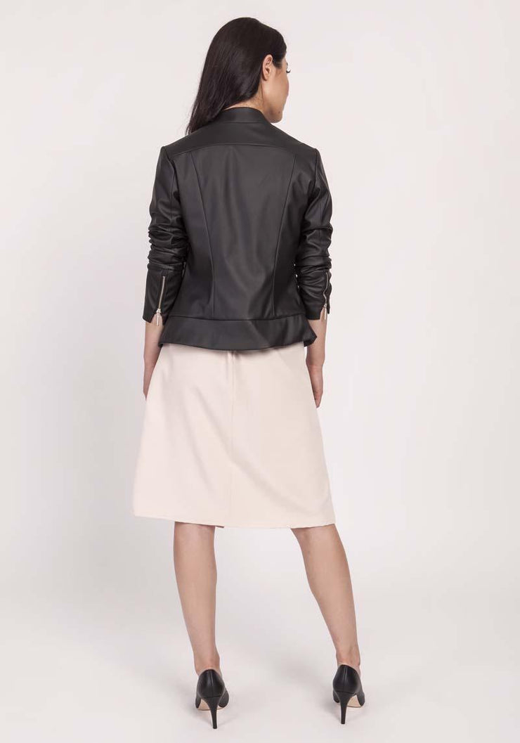 women-jacket-and-coatsBlack Lanti Jackets & Coats - Eli-ellas