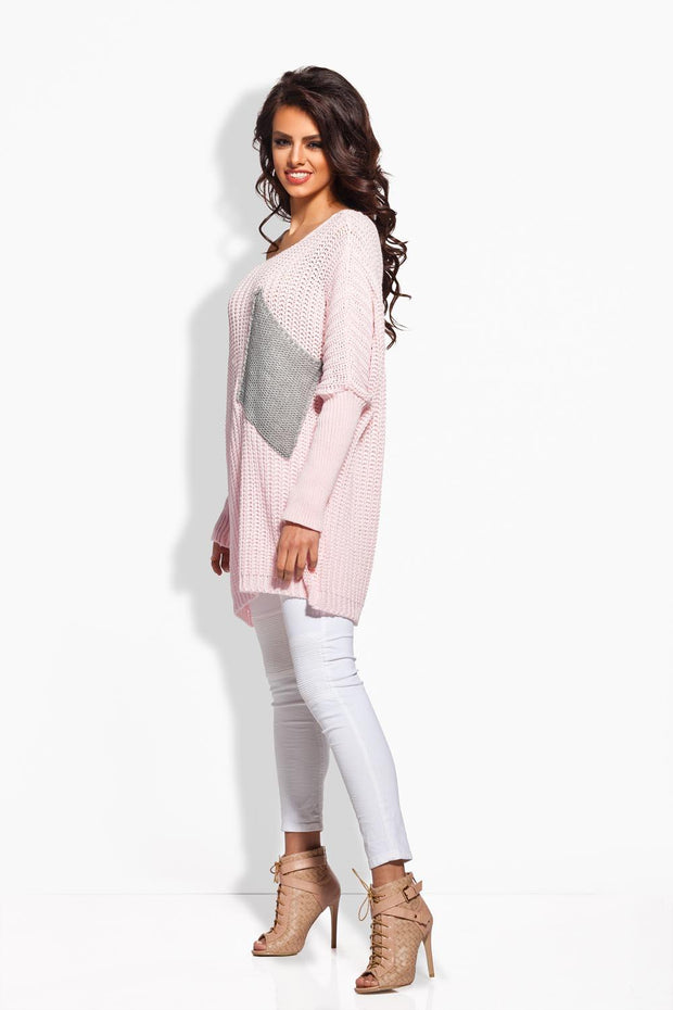 women-jacket-and-coatsPink Sweaters - Eli-ellas