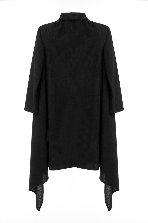 women-jacket-and-coatsBlack Infinite You Sweaters - Eli-ellas