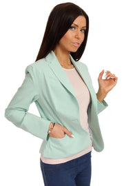 women-jacket-and-coatsMint MOE Blazers - Eli-ellas