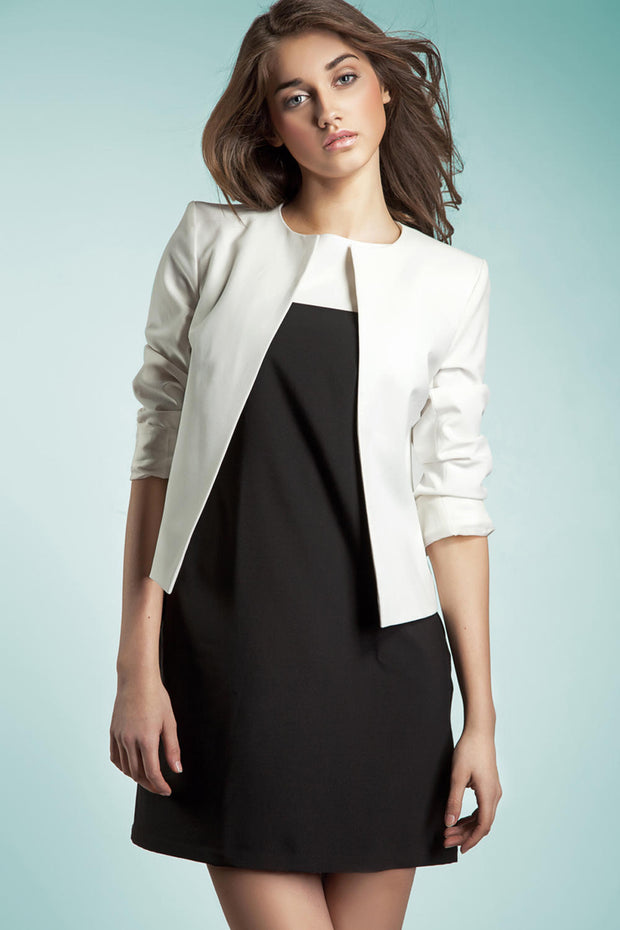 women-jacket-and-coatsWhite Nife Blazers - Eli-ellas